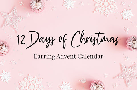 12 Days of Christmas ~ Earring Advent Calendar *PRE-ORDER*