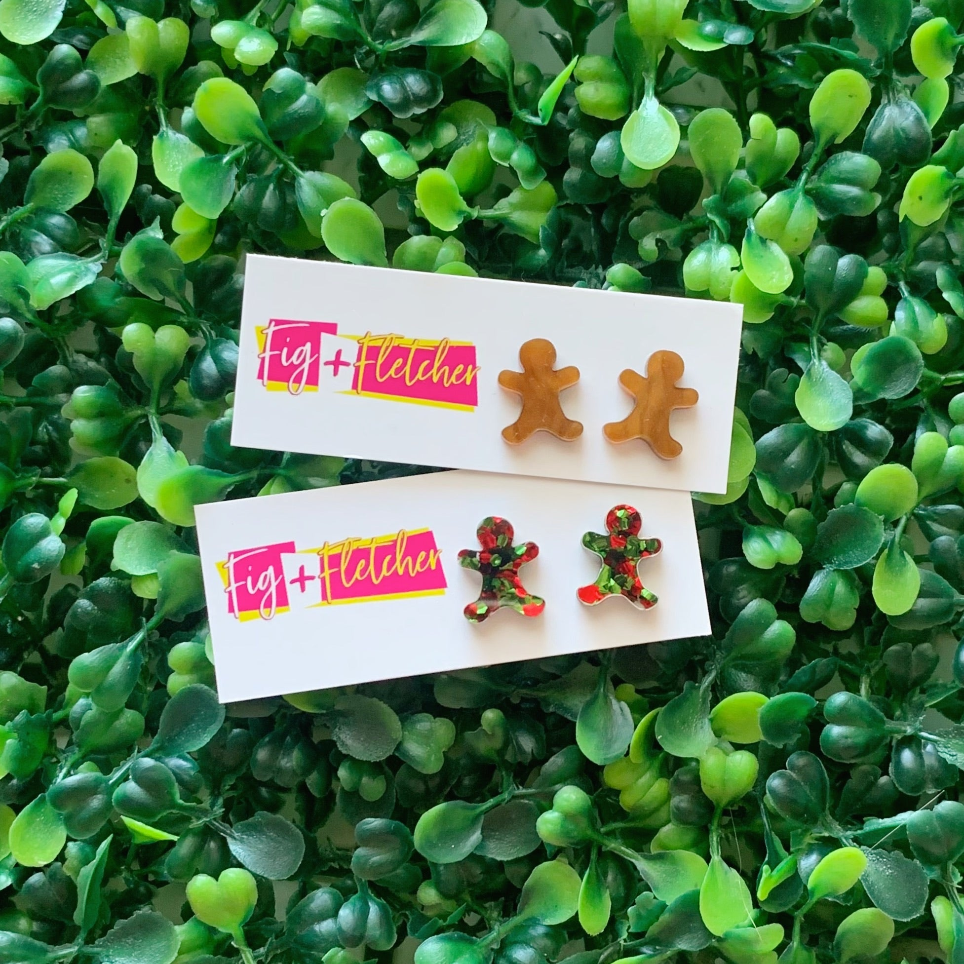 Gingerbread Studs ~ choose colour