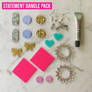 DIY Dangle Earring Kit ~ choose theme
