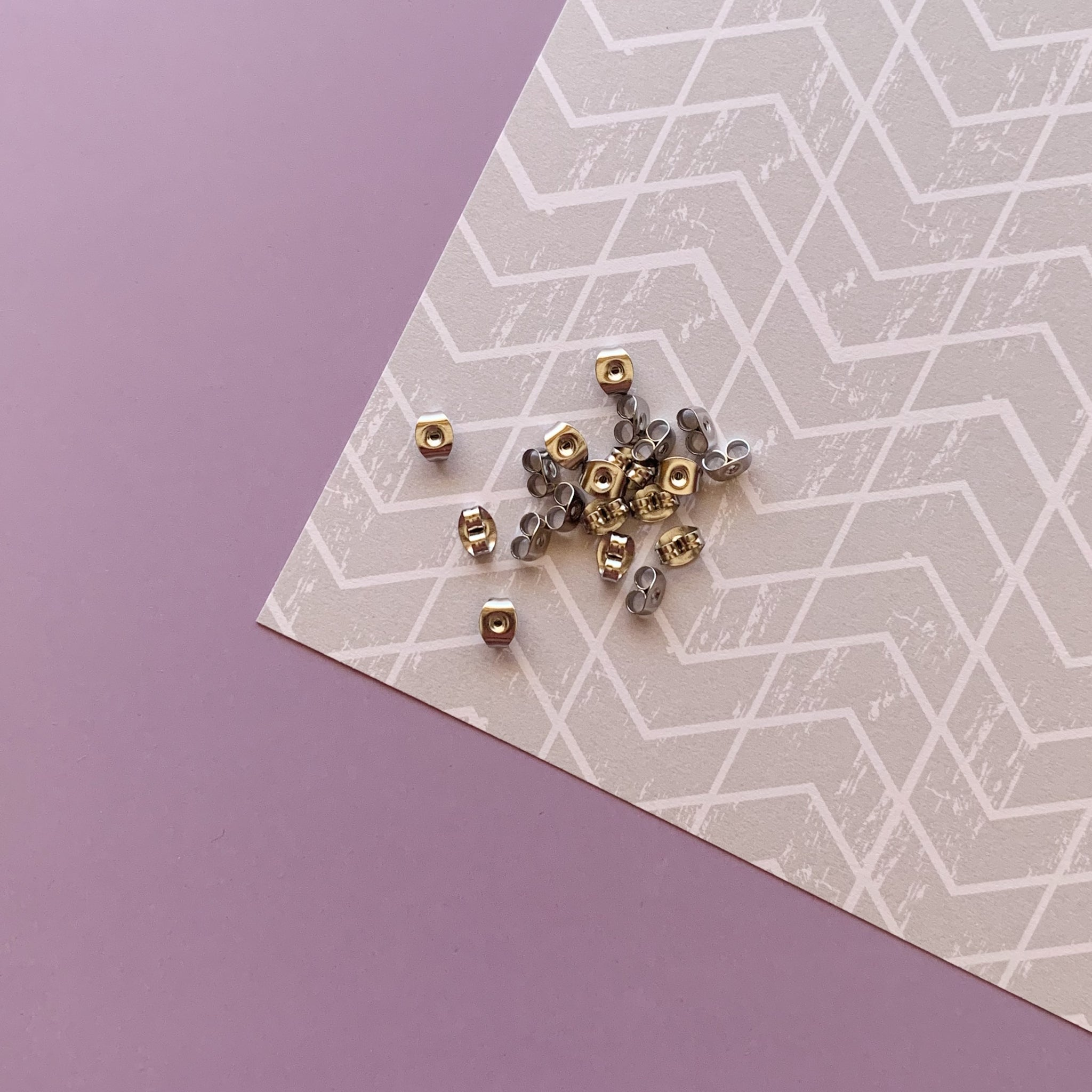 Extra Earring Backs - Stainless Steel