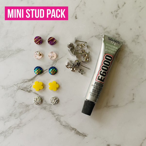 DIY Mini Stud Earring Kit