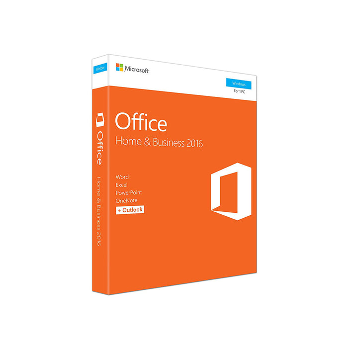 Microsoft Office Home and Business 2016 (1 User)