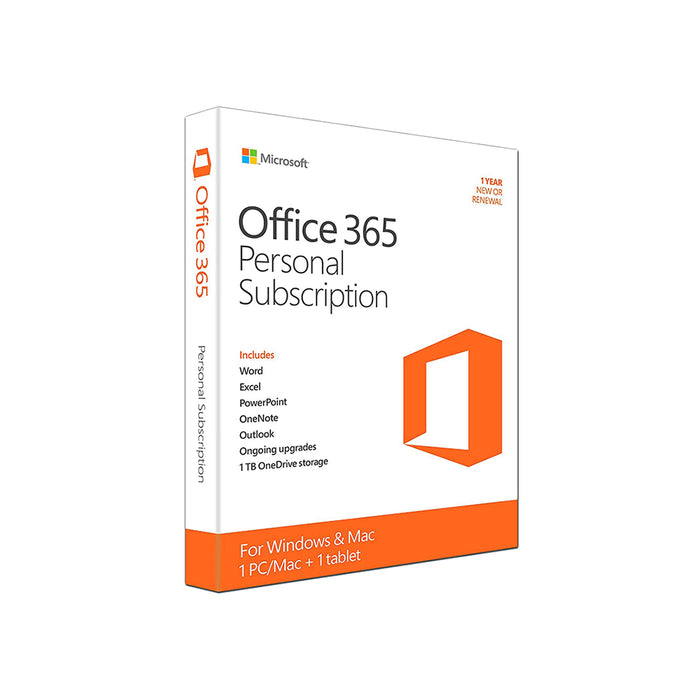 Microsoft Office 365 Personal (5 Users, 1 Year)