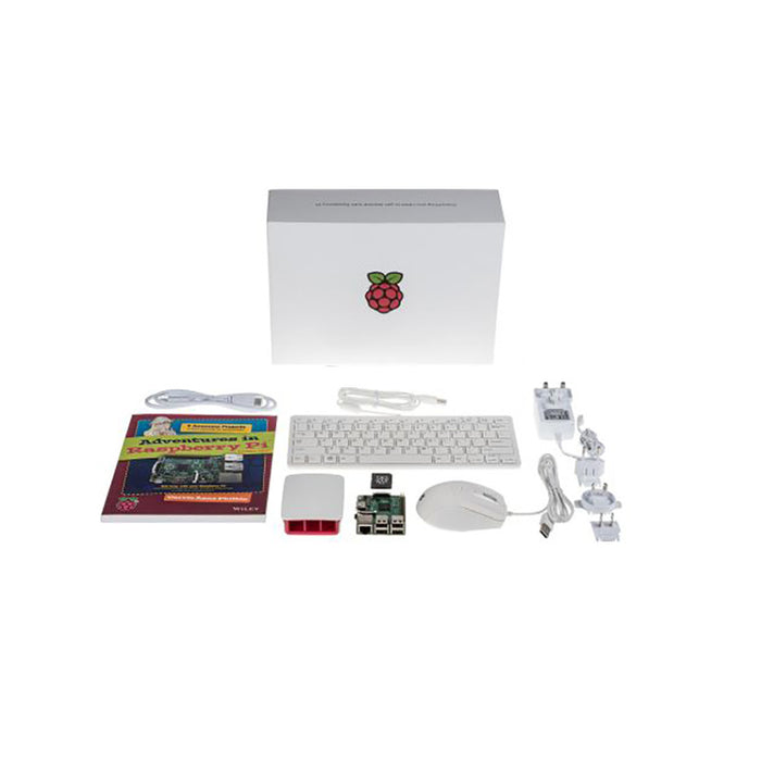 Raspberry Pi 3 Computer Kit (White)