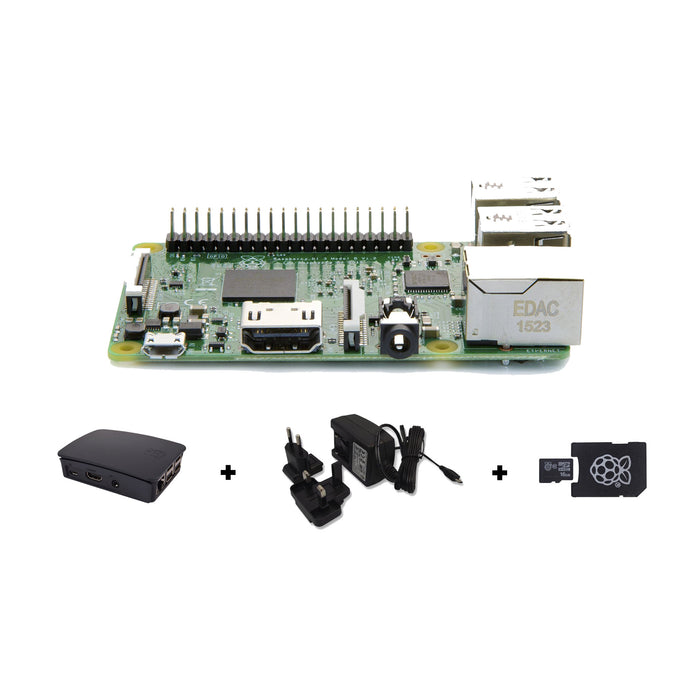Raspberry Pi 3 Starter Kit (Black)