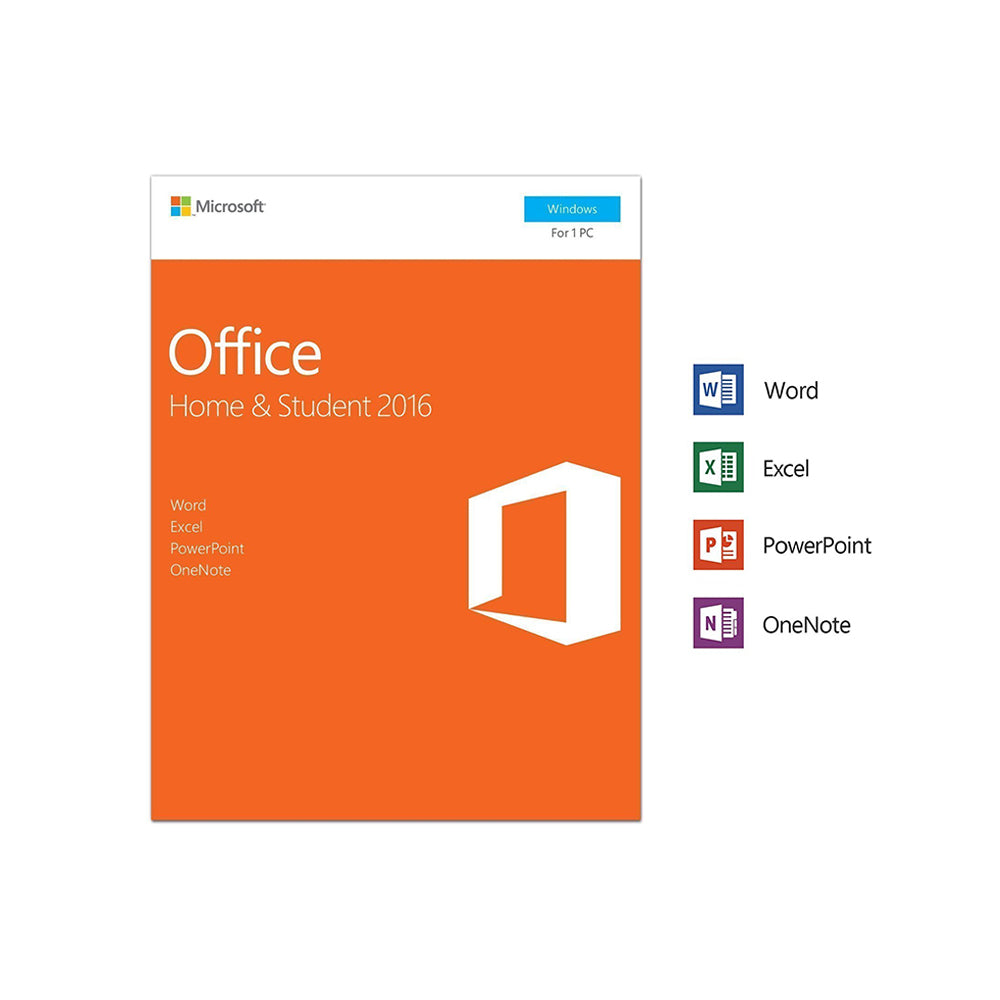 9708dcf4e Microsoft Office Home and Student 2016 (1 User) – Elon Three
