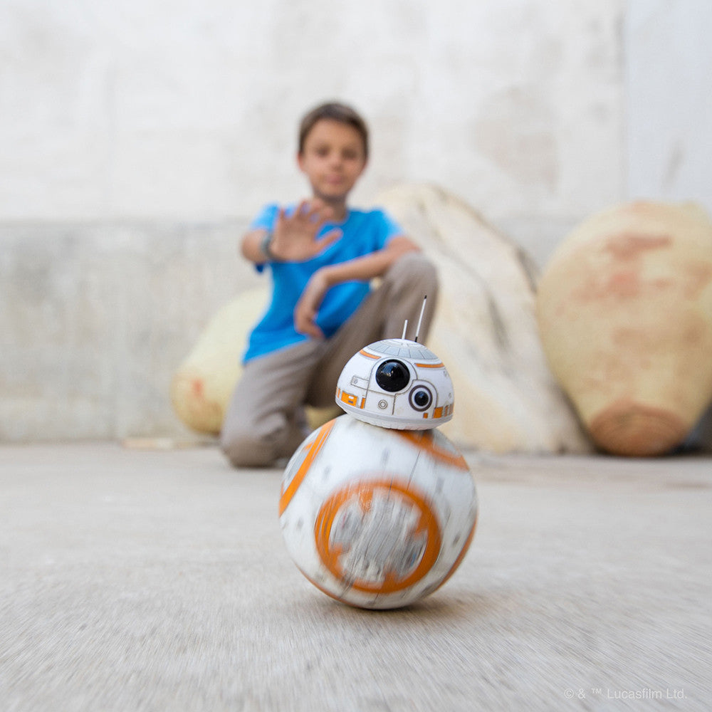 Sphero Battle Worn BB-8 Droid with Force Band (Special Edition) - Elon Three