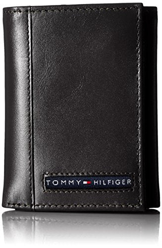 Oxford Trifold Men's Leather Wallet - Tommy Hilfiger