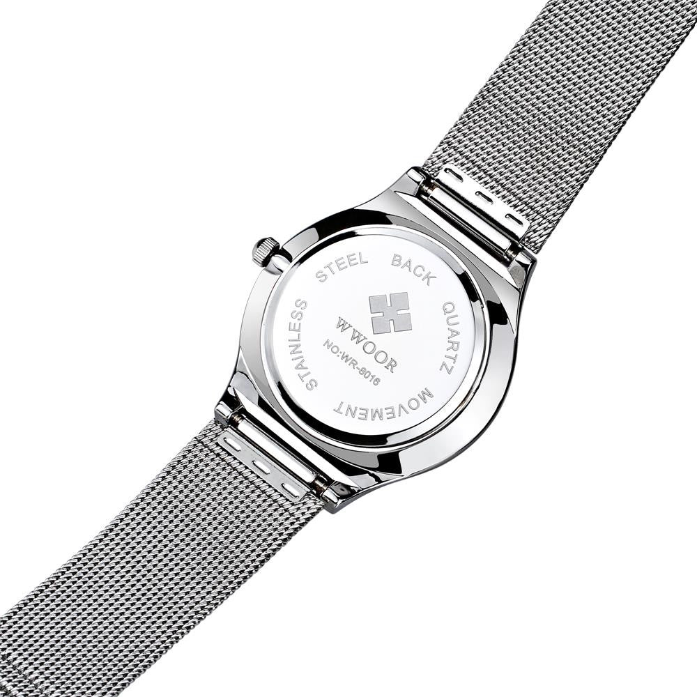 MontPellier  Ultra Thin Luxury Edition - Stainless Mesh Watch