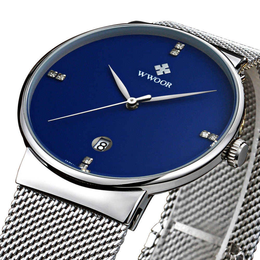 Hypnose Stainless Steel Casual Mesh Watch