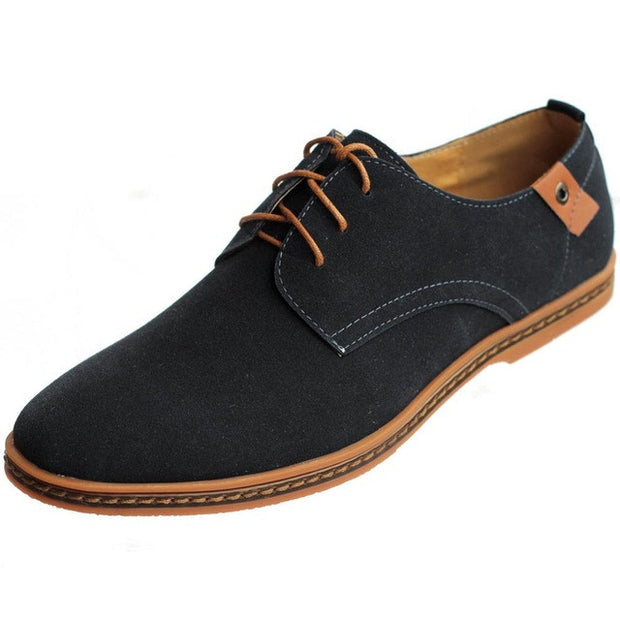 Casual Synthetic Leather Oxfords Shoes
