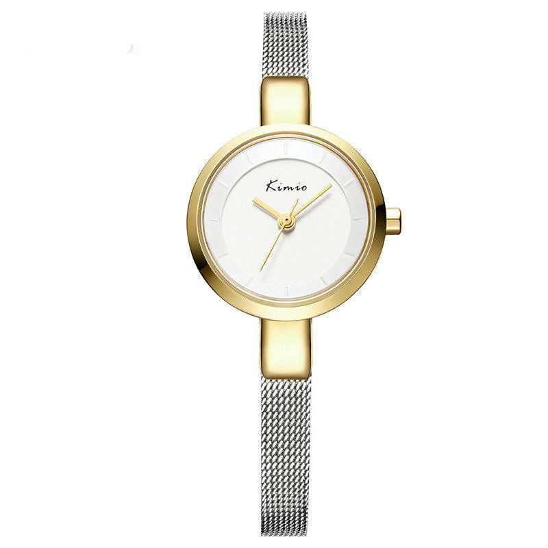 Le Petit Charme Stainless Steel Fine Mesh Watch
