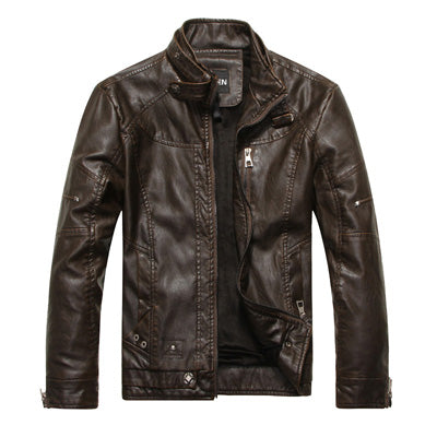 CHICAGO 2017 Leather Jacket Men