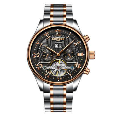 Vienne Skeleton Tourbillon  Automatic  Watch - Steel