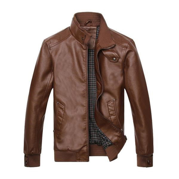 SWEDEN 2017 Leather Jacket Men