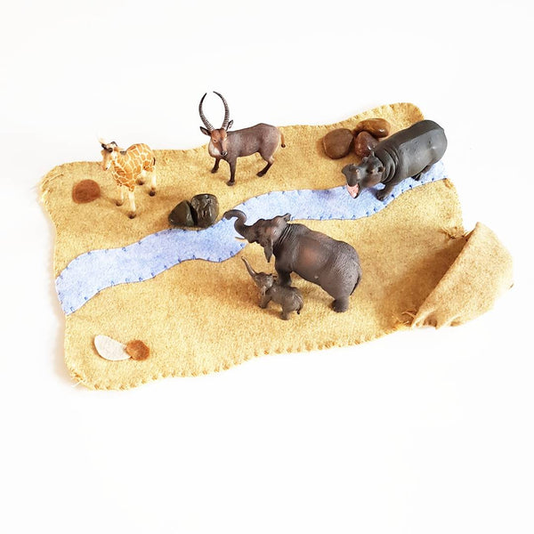 African Savanna River Playscape