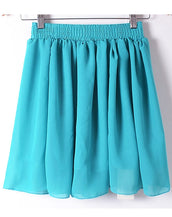Candy Color Skater Skirt