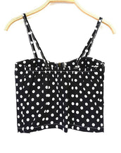 Cool Dotted Cropped Top