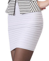 Candy Color Slim Bodycon Pencil Skirt Women Mini Skirt 15 Colors