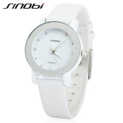 SINOBI 981 Ladies Rhinestone Quartz Wristwatch - ClickWear