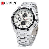 CURREN 8023 Men's Quartz Stainless Steel Wristwatch - ClickWear