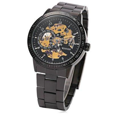 Winner F120596 Men Auto Mechanical Wristwatch - ClickWear