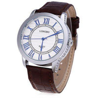 LONGBO 8863A Men's Quartz Wristwatch - ClickWear