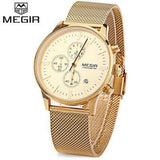 MEGIR M2011 Men's Quartz Dress Wristwatch - ClickWear