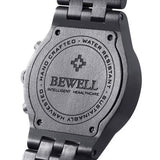 BEWELL ZS - W109D Men's Wooden Hand Crafted Wristwatch - ClickWear
