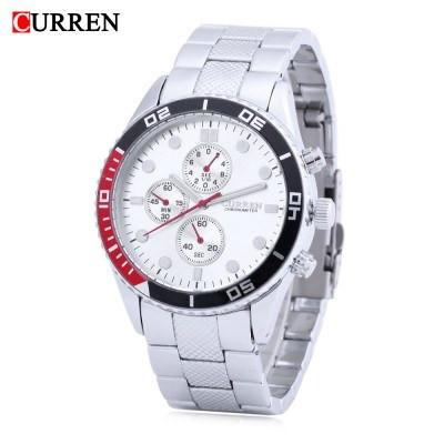 CURREN 8028 Men's Quartz Wristwatch - ClickWear