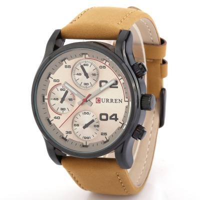 CURREN 8207 Casual Male Quartz Watch - ClickWear