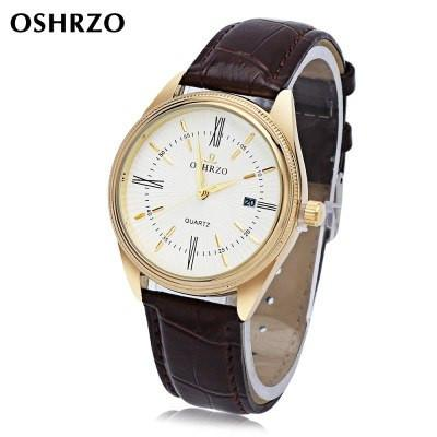 OSHRZO Men's Retro Quartz Wristwatch - ClickWear