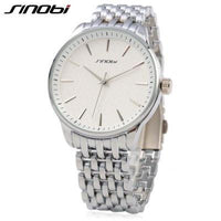 Sinobi 9586 Men's Quartz Stainless Steel Wristwatch - ClickWear