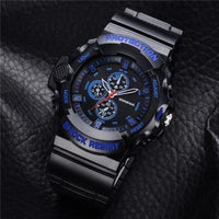 GON049 Men's Analog Quartz Silicon Sports Wristwatch - ClickWear