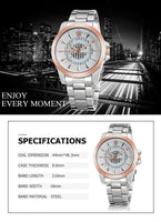 SKONE Retro Luxury Wristwatch - ClickWear
