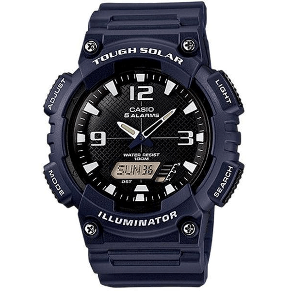 Casio AQS810W-2A2V Men's Tough Solar Power Wrist Watch - ClickWear