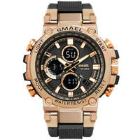 SMAEL 1803 Rose Gold Men's Military Sports wristwatch