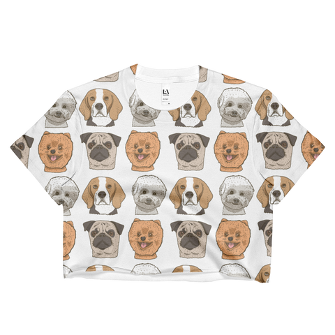 Dog - Ladies Crop Top