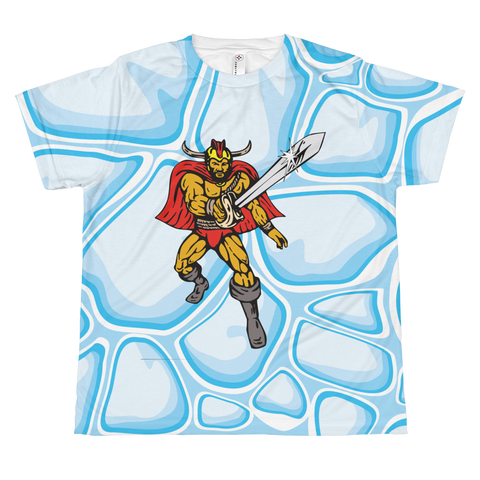 Super Cartoon Hero - All-over youth sublimation T-shirt