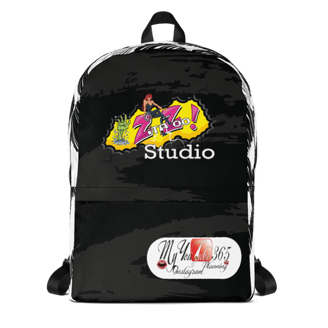 ZitaZoo Studio - My YouTube 365 & Instagram Planning - Backpack
