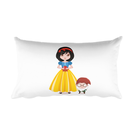 Snow White - Fairytale Princesses - Rectangular Pillow