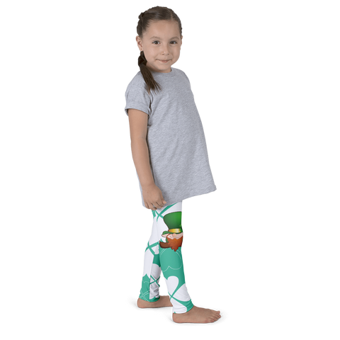 Green luck - Kid's leggings