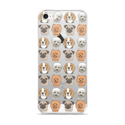 Dog - iPhone 5/5s/Se, 6/6s, 6/6s Plus Case