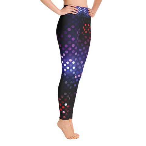 Dark Dot - Yoga Leggings