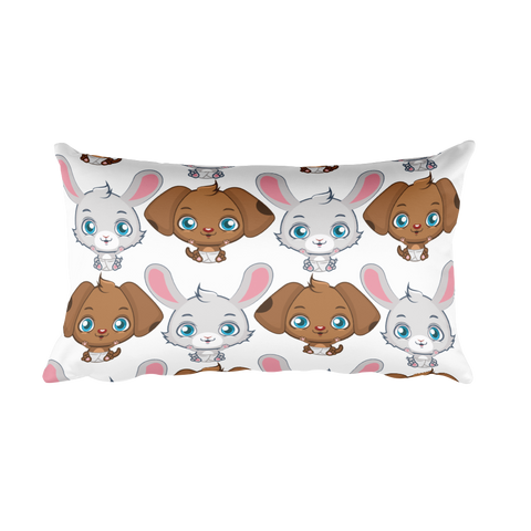 Cute Animals - Rectangular Pillow