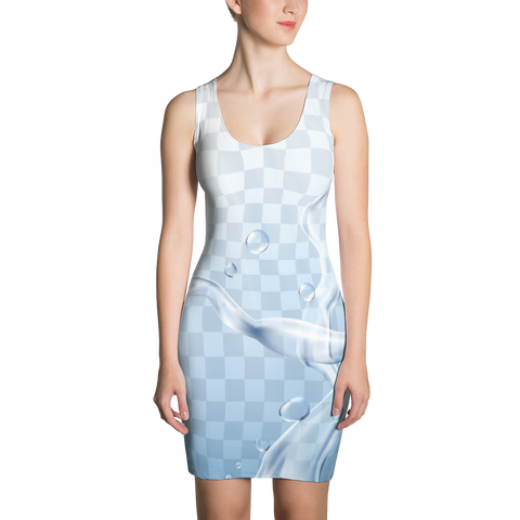 Water - Sublimation Cut & Sew Dress