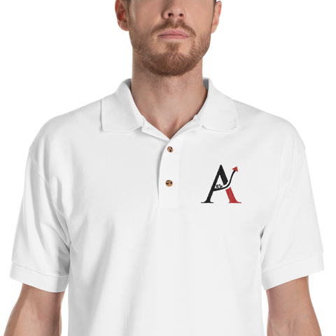 Arw - Embroidered Polo Shirt
