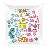 Baby Flower - Square Pillow