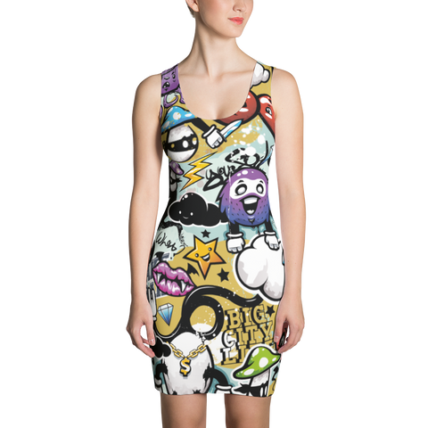 Doodle More - Sublimation Cut & Sew Dress