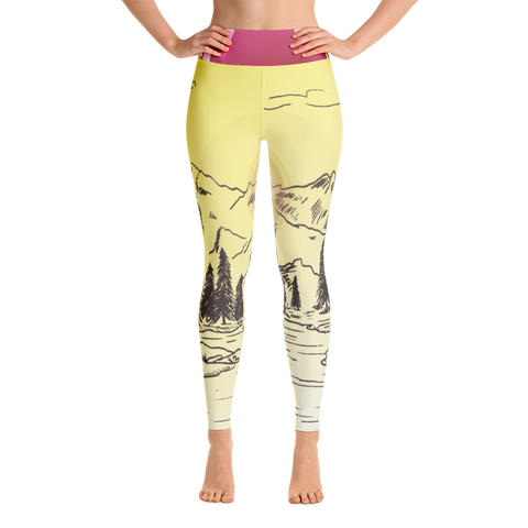 Mountain - Yoga Leggings
